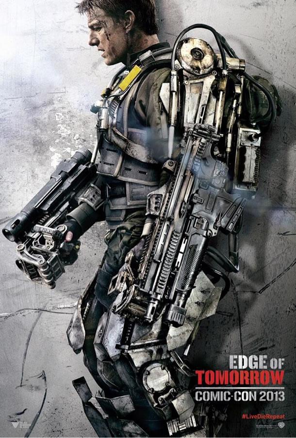 【映画】トム・クルーズの最新作はまたも近未来SF?謎の生命体と時間を遡りなんども生き返って戦い続ける戦士を描く「Edge of Tomorrow」が最新予告編を公開!