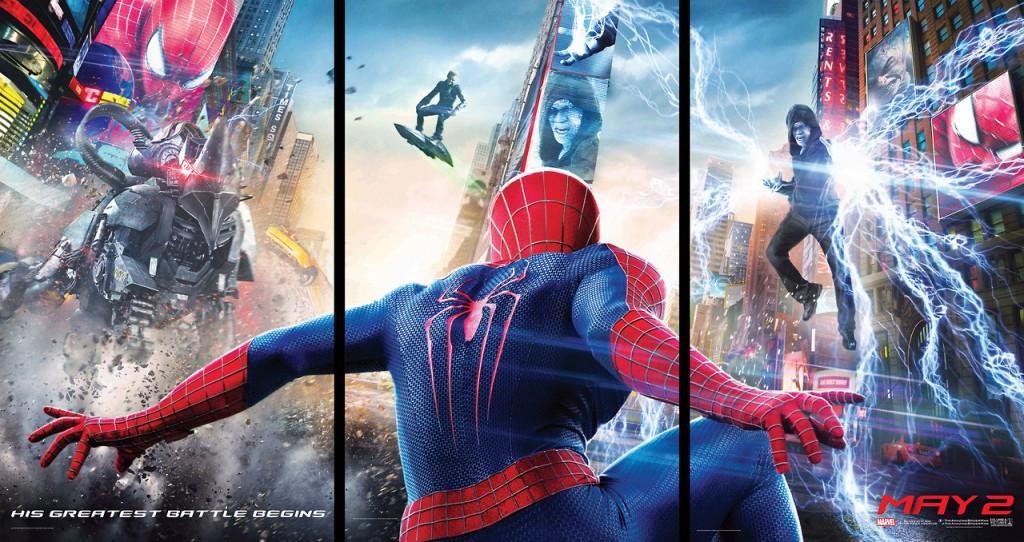 【映画】アメイジング・スパイダーマン2の公式Tumblrがポスター写真を公開!ザ・アメコミって感じでカッコイイ!