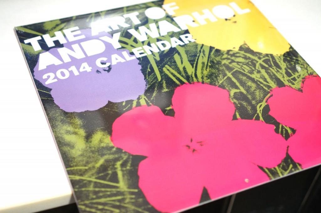 2013年ももうすぐ終わり!2014年のカレンダーはもう買った?人と違うオシャレカレンダーを使いたいならコレ!「Art of Andy Warhol 2014 Wall Calendar」がやってきた!