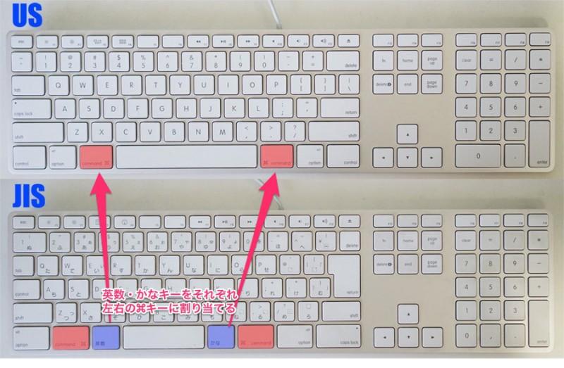 【Mac】USキーボードの⌘(コマンド)キーに「英数/かな」キーを割り当てる方法!KeyRemap4Macbookを導入!