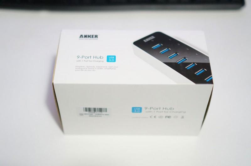 USB3.0が9ポート!(9+充電用1ポート) USB3.0ハブ「Anker USB3.0 高速9+1ポートハブ(電源アダプタ付き)」がやってきた!レビュー!