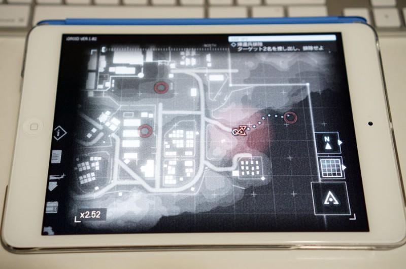 メタルギアソリッド5、グラウンド・ゼロズのゲーム連動アプリが素晴らしい!全部のアクションゲームに実装して欲しいレベル!なお本編は短い模様。