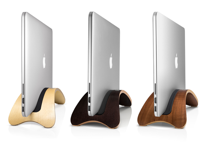 Twelve SouthのオシャレMacBookスタンドに新作が登場!木目調のデスクにもピッタリなプライウッドのスタンド!
