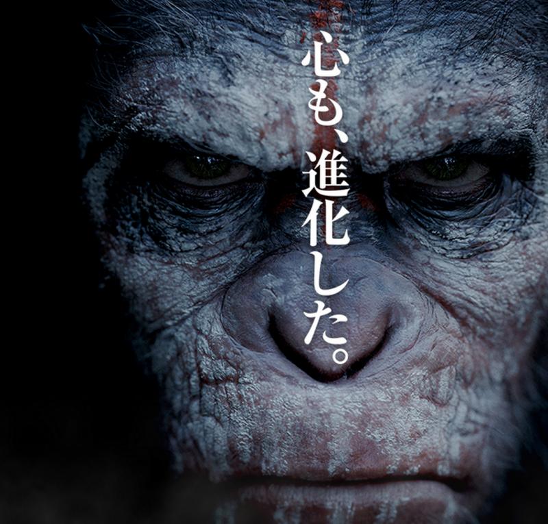 【映画】「猿の惑星 創世記(ジェネシス)」の続編、「猿の惑星 新世紀(ライジング)」が長めの予告編を公開!(字幕なし)