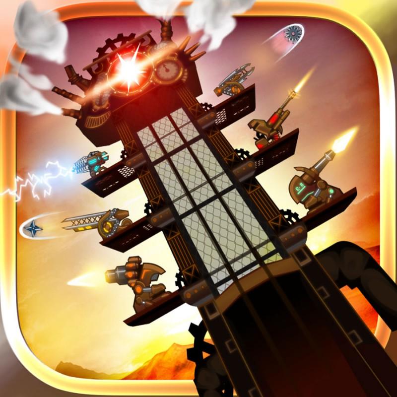 【iOS App】程良い難易度のタワーディフェンス!『Steampunk Tower』のレビュー!