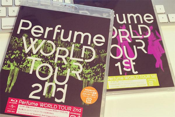 【レビュー】Perfume World Tour 1st & 2nd ブルーレイ版