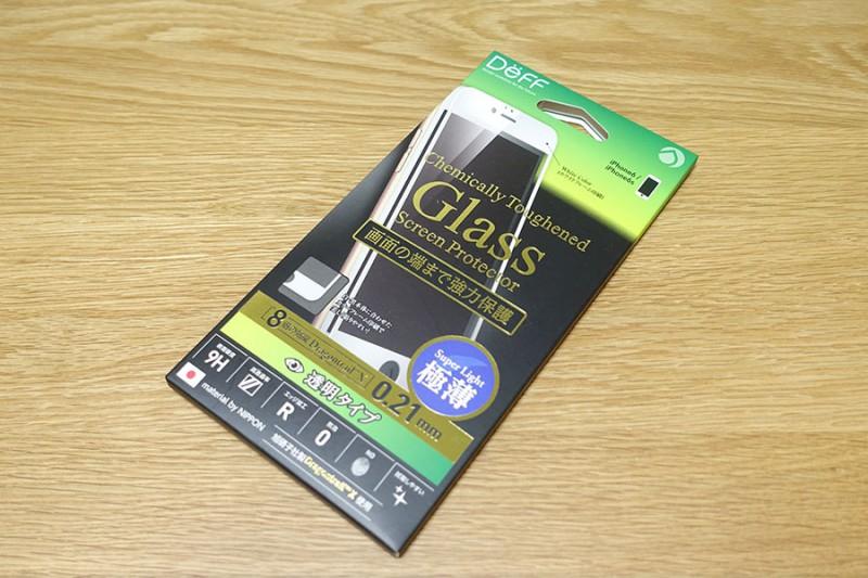 【iPhone6・6s】DeFFの全面保護タイプのガラスフィルム、ドラゴントレイルXを買ってみました!