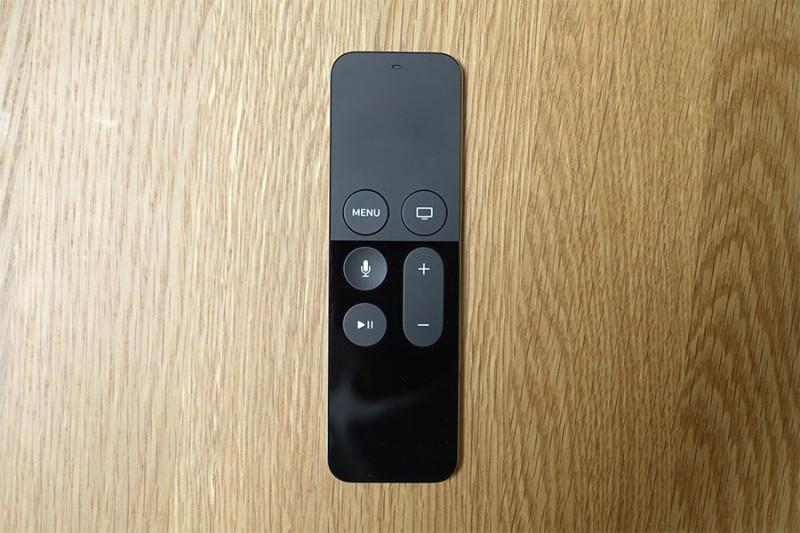 AppleTV(第4世代)専用リモコン「Siri Remote」の操作性レビュー