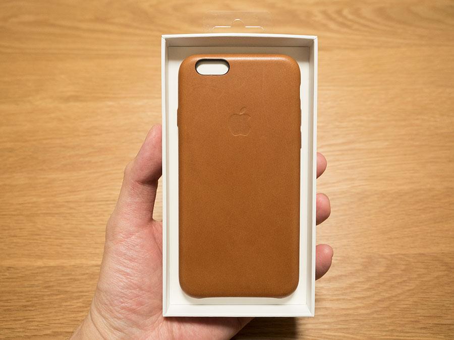 e6d920af9c 今更ながらiPhone6sの純正レザーケースを買ってみた! | ウサギガジェット
