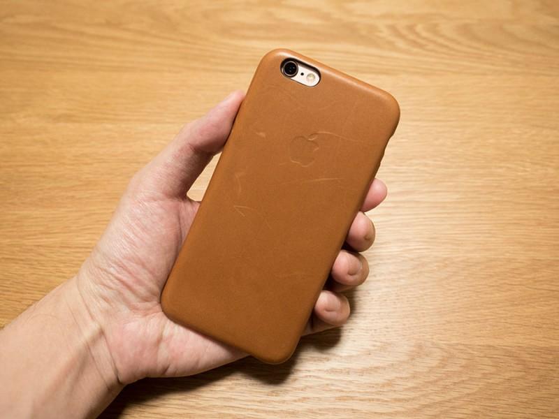 今更ながらiPhone6sの純正レザーケースを買ってみた!