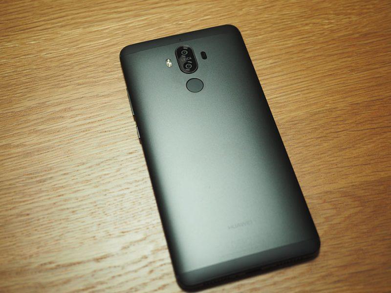 Huawei Mate9 新色ブラックがキタ━━━━(゚∀゚)━━━━!!【簡易フォトレビュー】